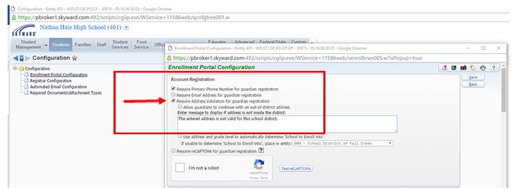 Simplify School Registration With Address Validation