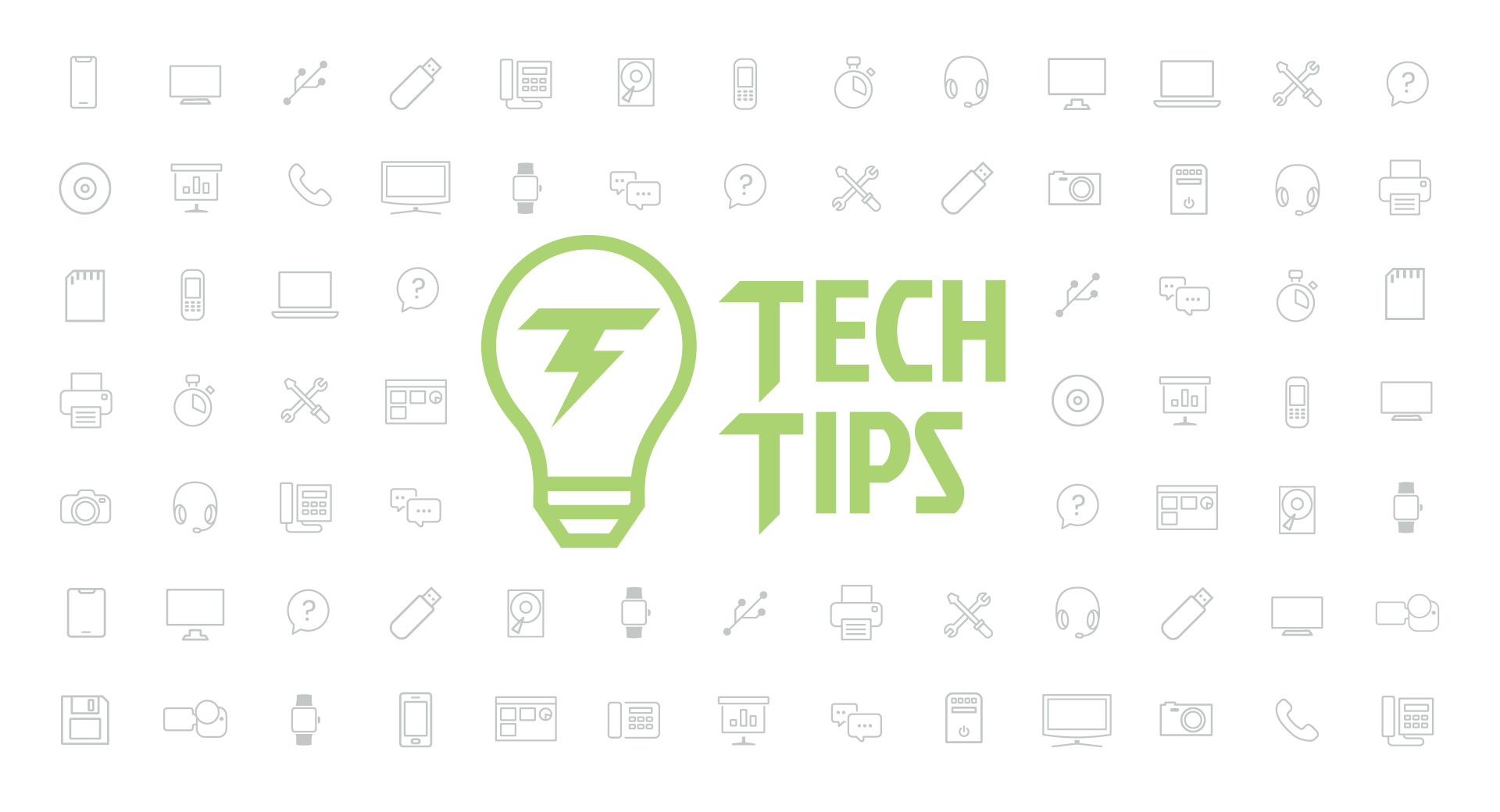 Technology Tips: April 2019 Edition