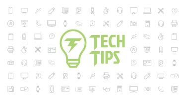 Technology Tips: April 2018 Edition