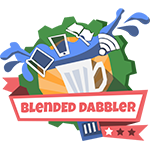 blended1 badge