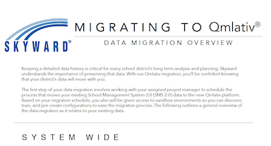 Printable Data Migration Handout