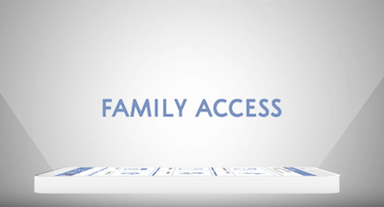Mobile App: Family Access