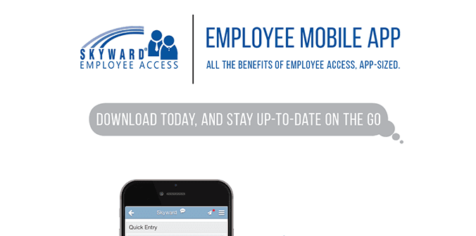 Employee Mobile Access Poster