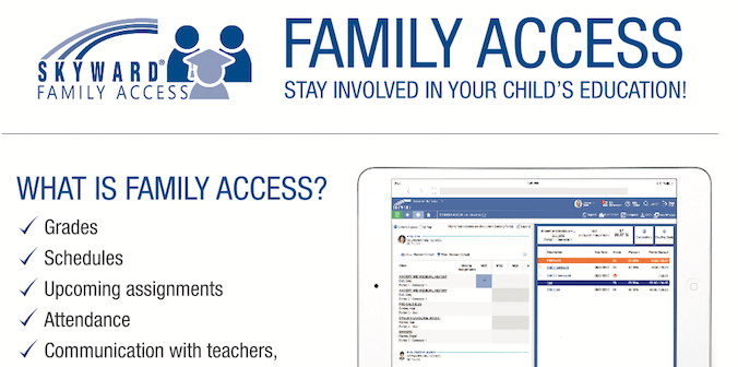 Family Access Handout