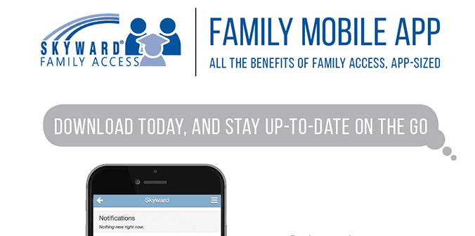 Family Access Mobile App Handout
