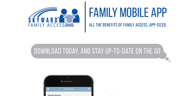 Family Access Mobile App Poster