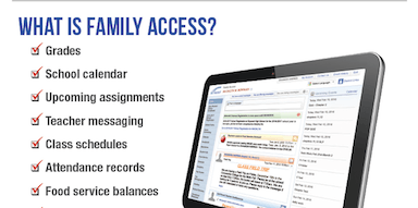 Family Access Poster