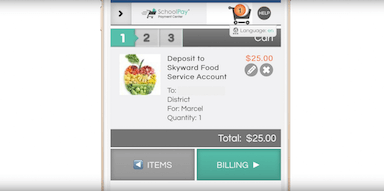 Power-Up: Mobile Food Service Payments